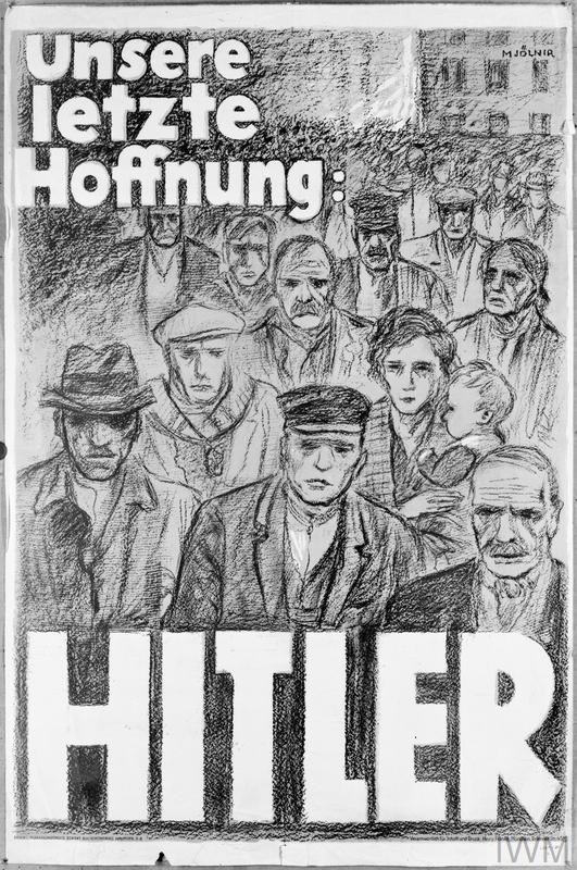 Unsere Letzte Hoffnung Hitler Our Last Hope Hitler