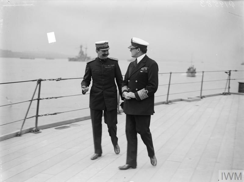 THE ROYAL NAVY IN THE HOME WATERS, 1914-1918