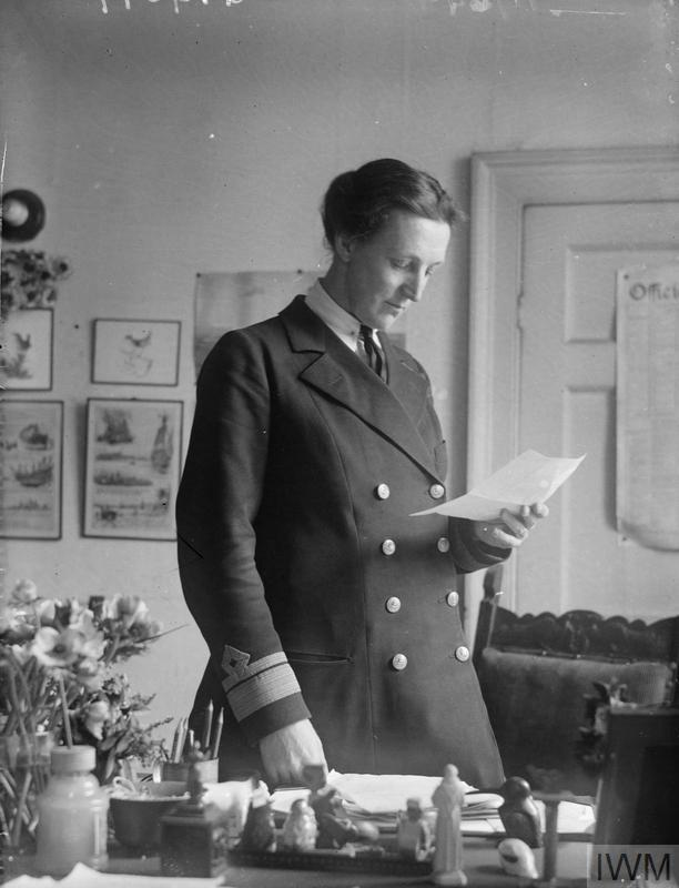 Katharine Furse, the Director of the WRNS.