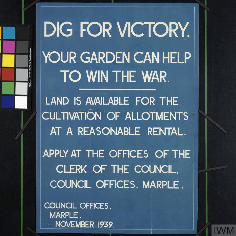 Dig For Victory - Your Garden Can Help to Win the War