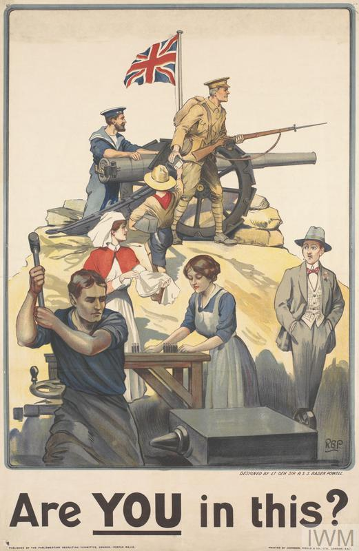 a discussion of the importance of propaganda during the world war one Britain re-created the world war i ministry of information for the duration of world war ii to generate propaganda to  one series of posters  during the second.