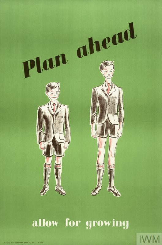Plan ahead: allow for growing poster