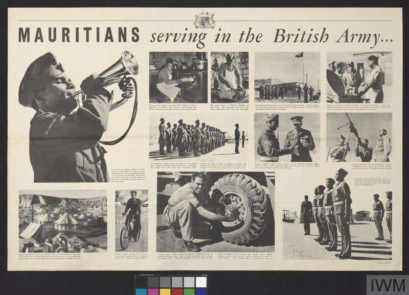Mauritians Serving In The British Army Imperial War Museums