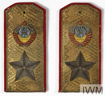 badge, rank, shoulder board, Marshal of the Soviet Union