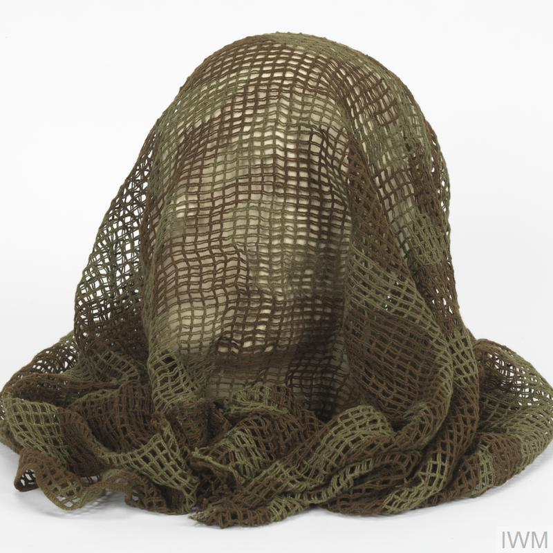 face veil  individual camouflage net   british army