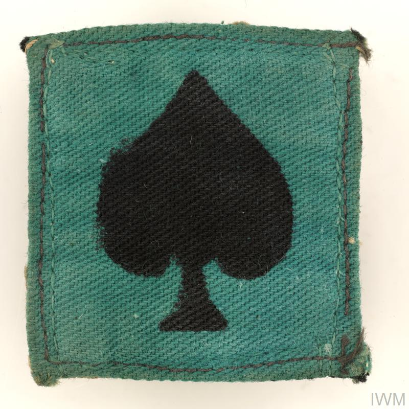 badge, formation, Indian, 25th Indian Division
