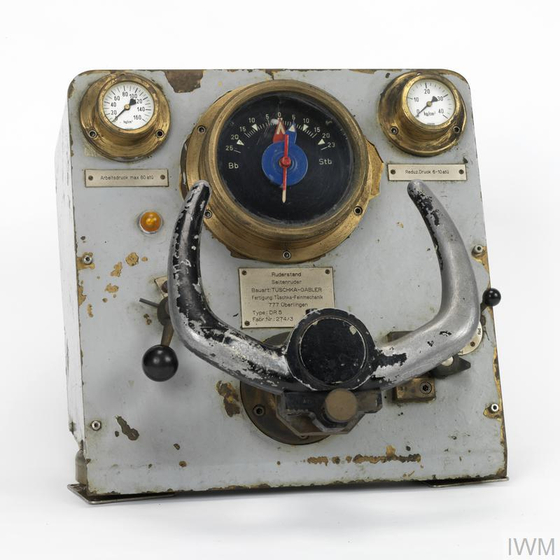 "Control panel from ""Hecht"" midget submarine"