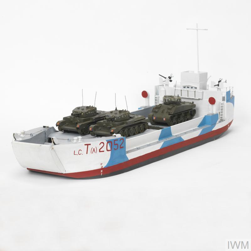 landing craft  tank  armoured  lct a