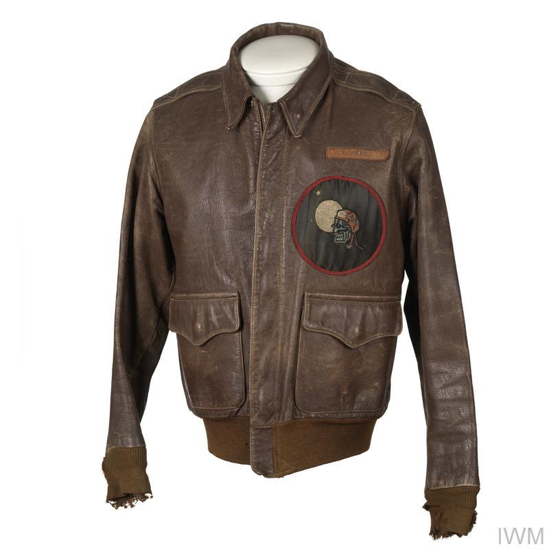 Flying Jacket, Type A-2: 414th NFS, USAAF