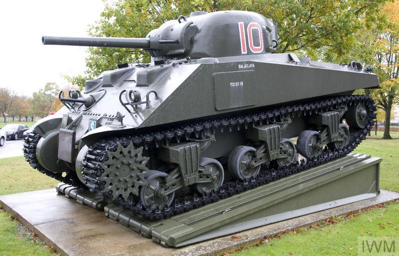 Sherman M4A4 Medium Tank (Willie Pusher II)   Imperial War