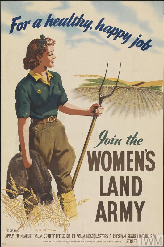 for a healthy happy job join the womens land army