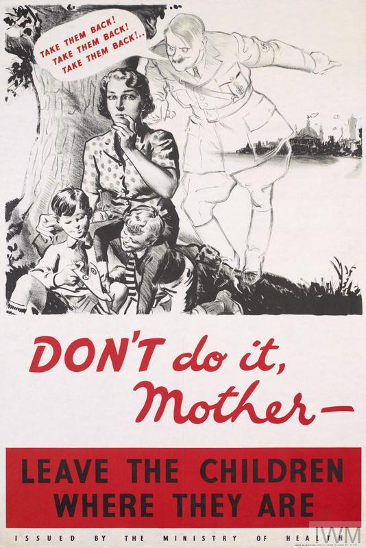 Don't Do It, Mother – Leave The Children Where They Are