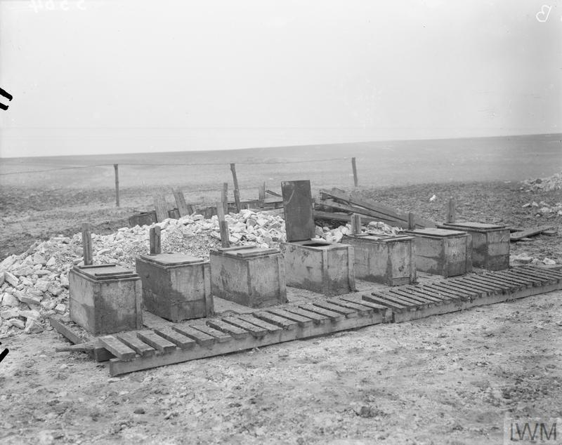 Latrines, ANZAC Rest Station, Buire, 15th January, 1917.