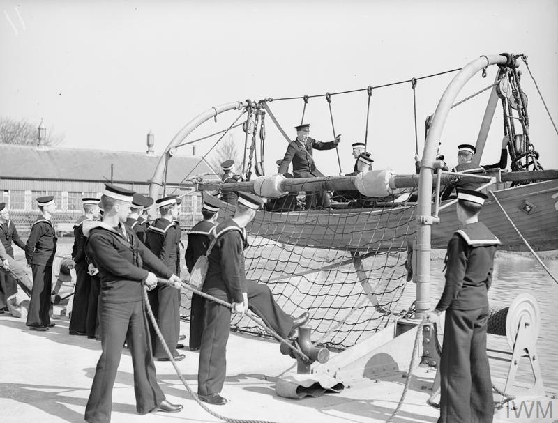 HIGH COMMISSIONER FOR NEW ZEALAND VISITS THE TRAINING ESTABLISHMENT HMS ST VINCENT. 15 APRIL 1942