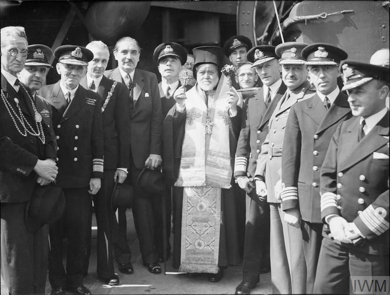 THE ROYAL NAVY AND GREEK NAVY DURING THE SECOND WORLD WAR