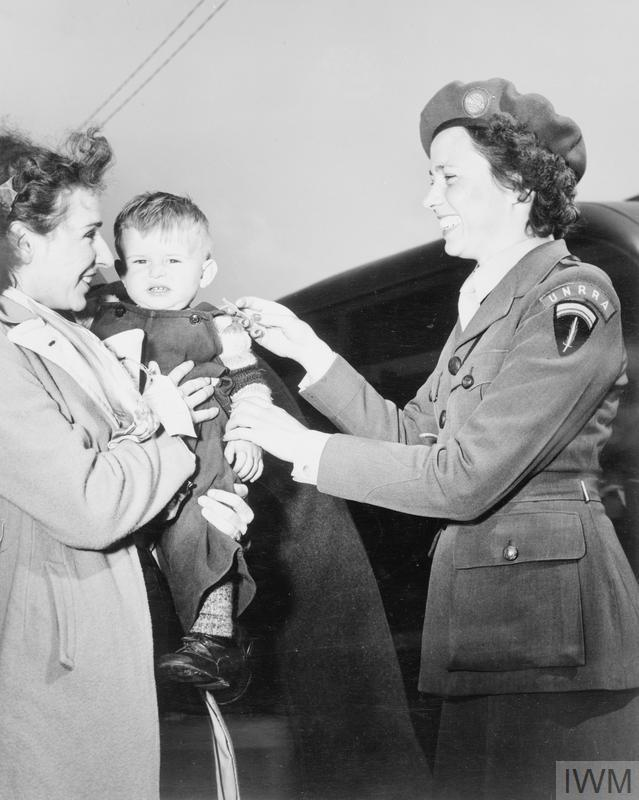 THE REPATRIATION OF DISPLACED PERSONS BY THE UNITED NATIONS RELIEF AND REHABILITATION ADMINISTRATION, GERMANY, c 1946