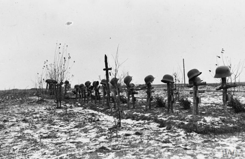 German graves.