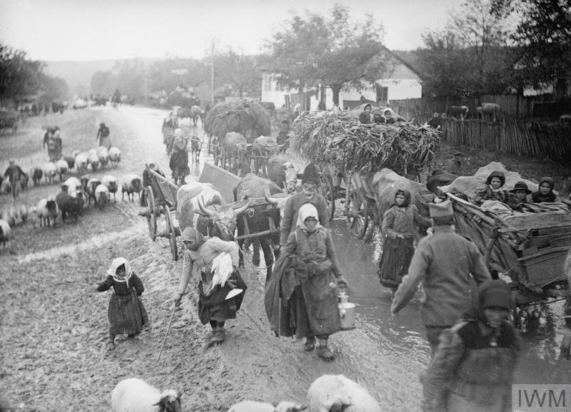 THE RETREAT OF THE SERBIAN ARMY TO ALBANIA, 1915