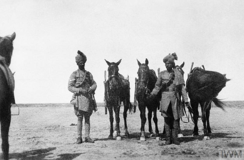 SERVICE OF CAPTAIN DE ST CROIX WITH THE 119TH INDIAN INFANTRY (THE MOOLTAN REGIMENT) IN MESOPOTAMIA DURING 1915