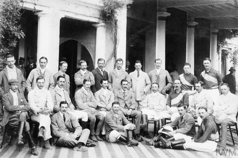 WINSTON CHURCHILL WITH THE 4TH HUSSARS IN INDIA, 1899.