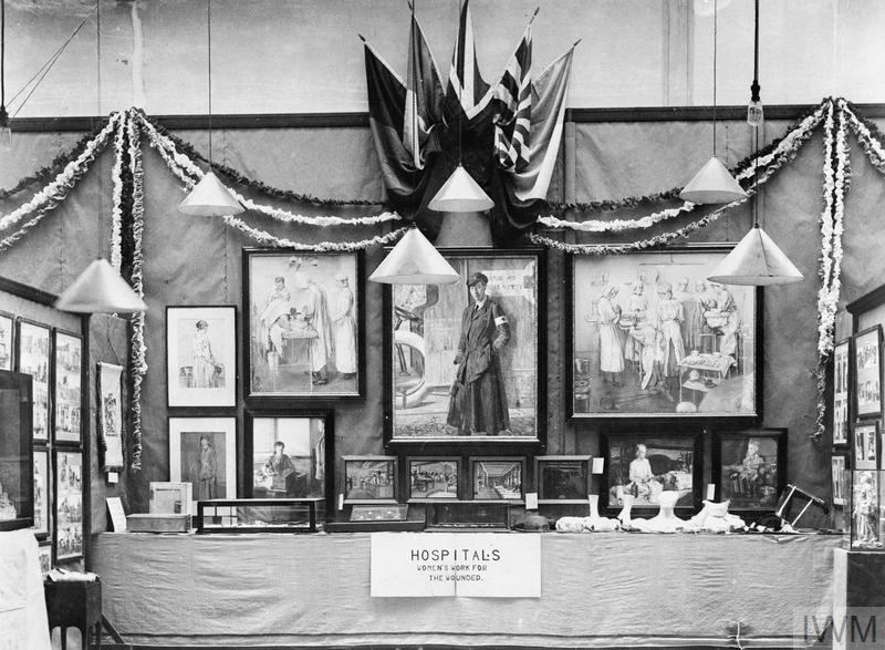 Women's War Work Exhibition, Whitechapel: Hospital Section Exhibits.