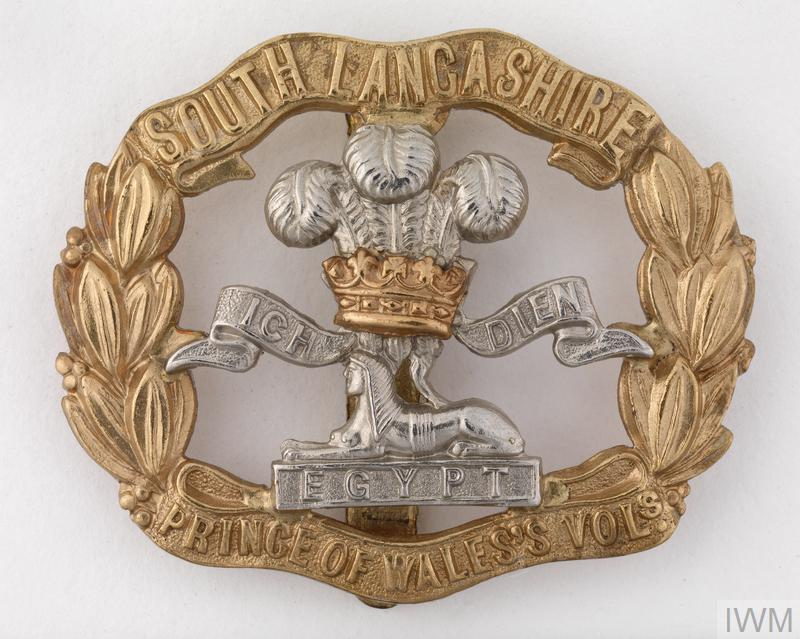 Badge Headdress British The Prince Of Waless Volunteers South