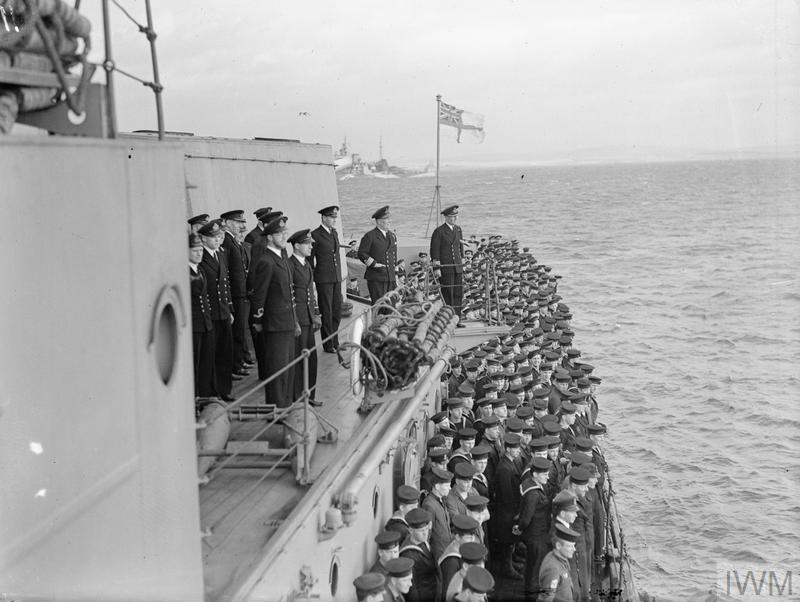 HMS BELFAST DURING THE SECOND WORLD WAR: OPERATION LEADER 5-6 OCTOBER 1943