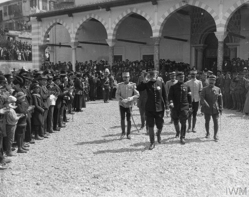 THE CAMPAIGN IN MACEDONIA 1915 - 1918