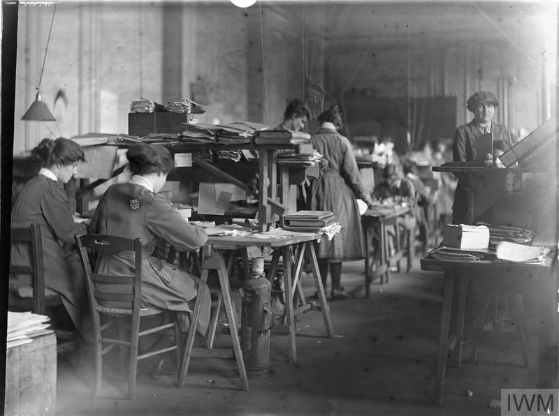 Archbishops Palace. Queen Mary's Army Auxiliary Corps (QMAAC) (Registrars Office) 3rd Echelon. Assistant Unit Administrator Rouen.