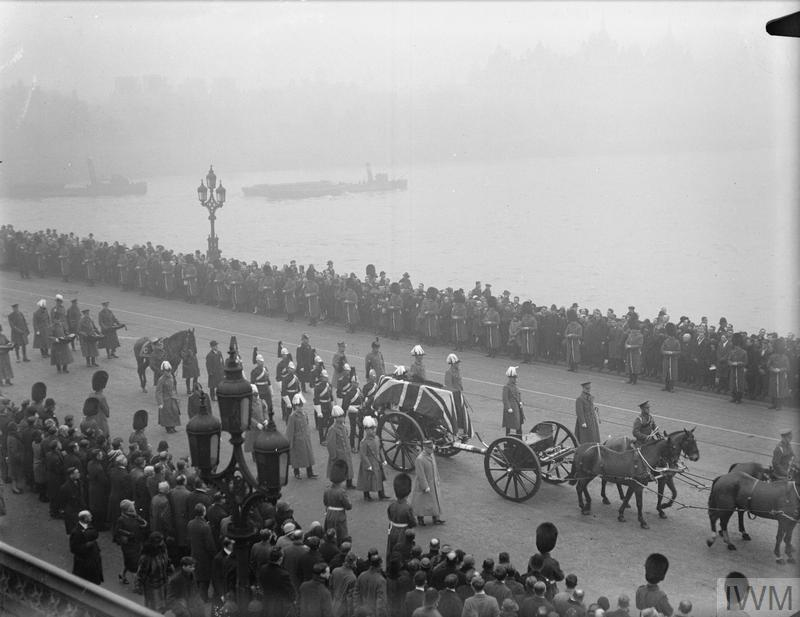 The Funeral Procession Of Earl Haig London Imperial War