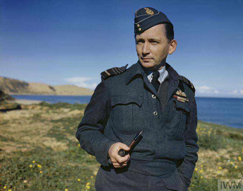 Air Chief Marshal Sir Arthur Tedder on the Italian coast. Later that month he returned to Britain to take up his appointment as Deputy Commander of the Allied Expeditionary Forces then being assembled for the cross-channel invasion.