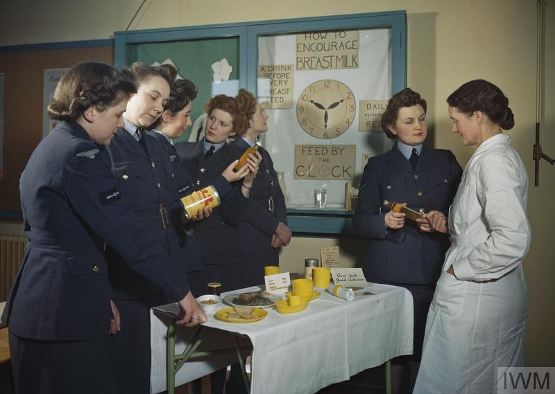 ROYAL AIR FORCE RESETTLEMENT TRAINING, EDMONTON, LONDON, 1945