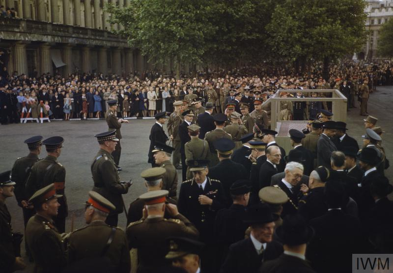 The United Nations Day parade in London in June 1943.