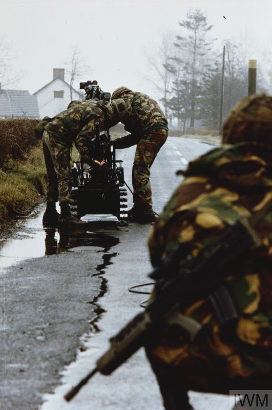 THE BRITISH ARMY IN NORTHERN IRELAND, 1969 - 2007