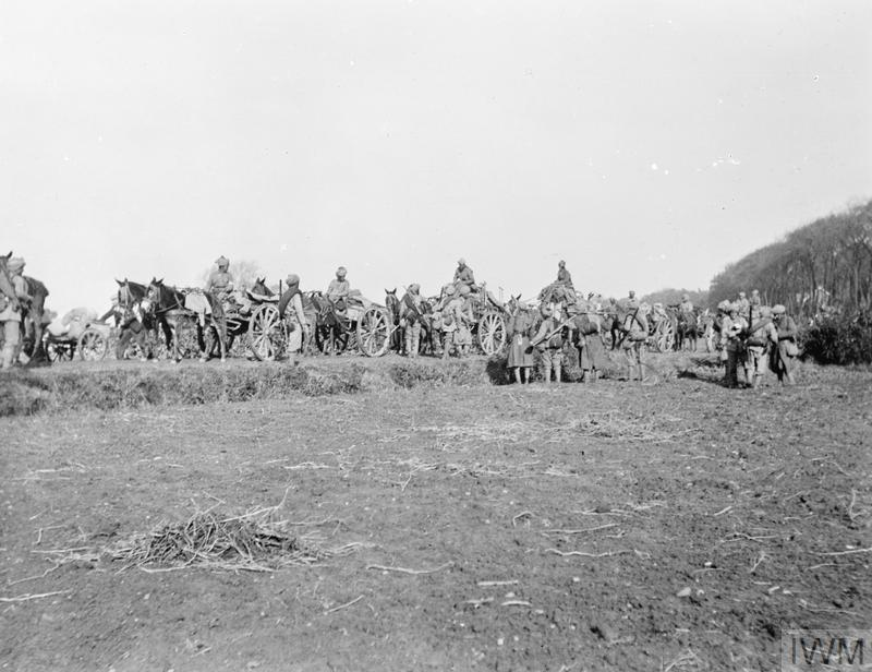 THE INDIAN ARMY ON THE WESTERN FRONT 1914-1918