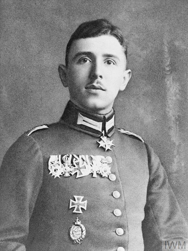 Max Immelmann was the first German air ace of the First World War.