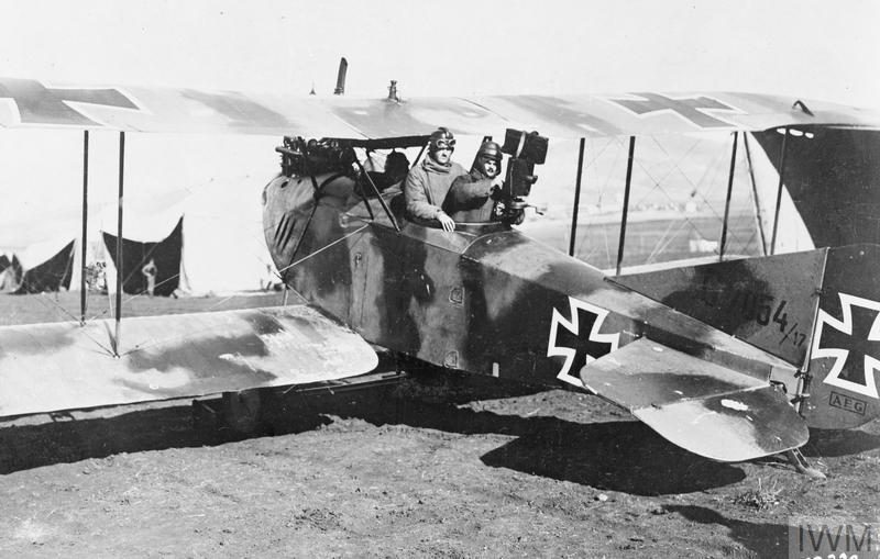 THE GERMAN AIR FORCE IN THE SINAI AND PALESTINE, 1915-1918