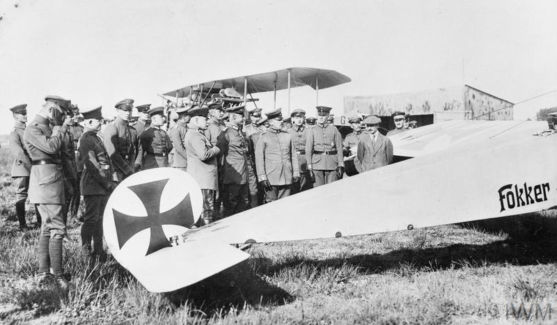 THE GERMAN AIR FORCE IN THE FIRST WORLD WAR