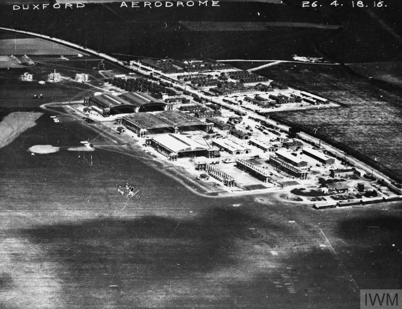 Fowlmere Airfield 1918 Imperial War Museums