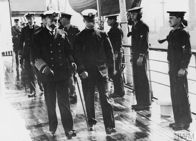 THE US NAVY IN BRITAIN, 1917-1918