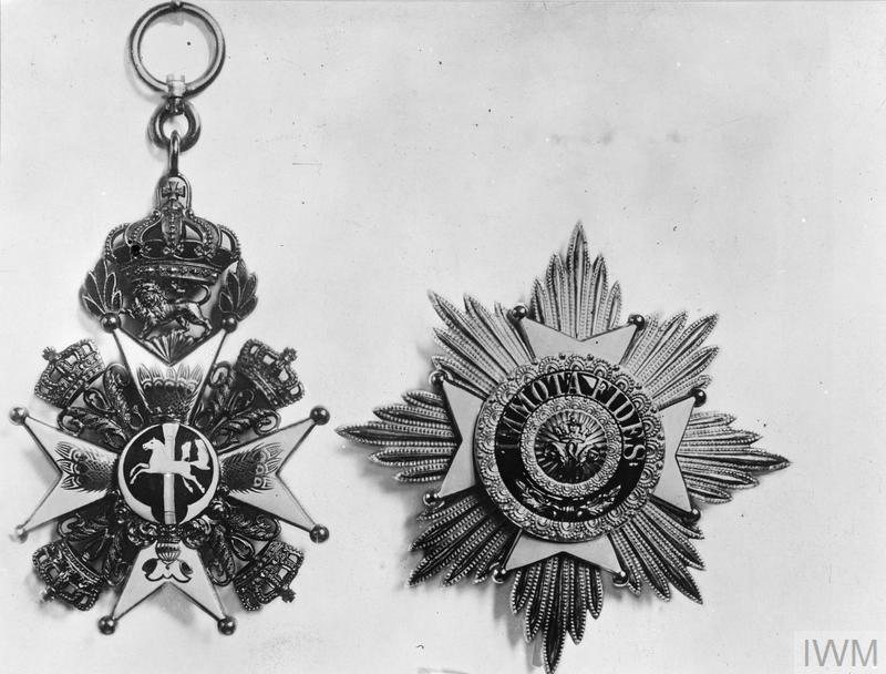 GERMAN MILITARY ORDERS AND DECORATIONS OF THE FIRST WORLD