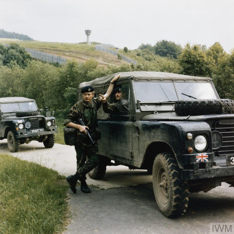 BRITISH ARMED FORCES IN GERMANY 1976 - 2000