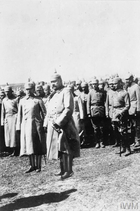 THE GERMAN ARMY ON THE EASTERN FRONT, 1914-1918
