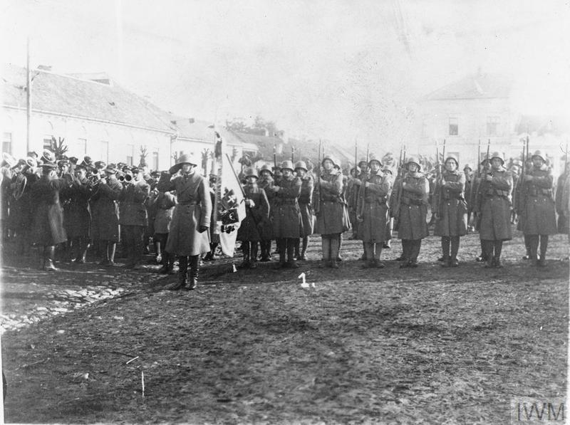 THE PROCLAMATION OF CZECHOSLOVAKIAN INDEPENDENCE, OCTOBER-NOVEMBER 1918