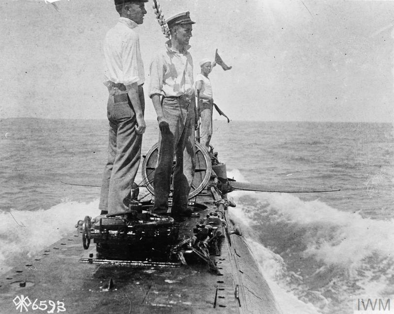 THE US NAVY IN THE FIRST WORLD WAR