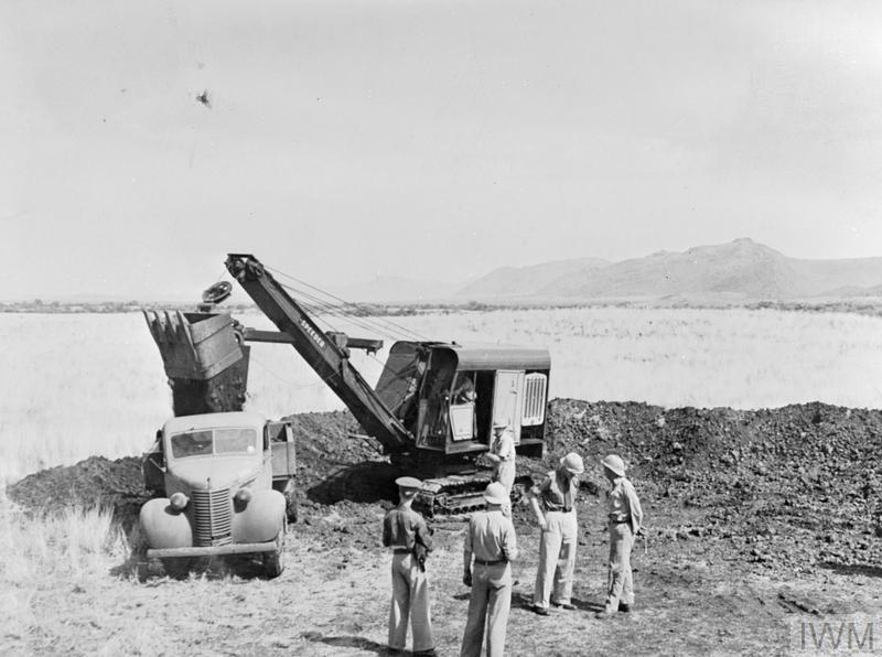 ROAD CONSTRUCTION UNIT OF THE SOUTH AFRICAN ENGINEERING CORPS, KENYA, 1941