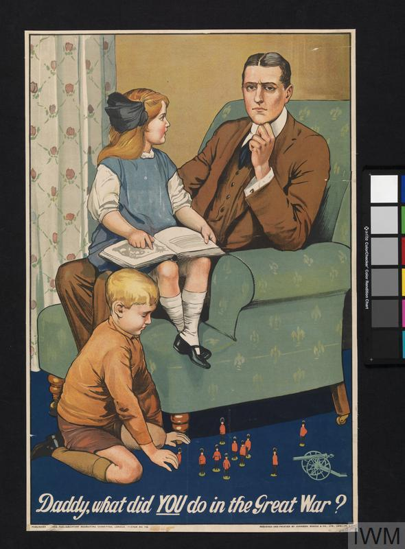What Do You Need For Full Face Makeup: Daddy, What Did You Do In The Great War?