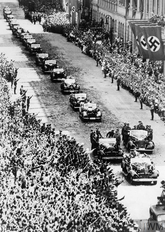 Adolf Hitler enters Vienna.