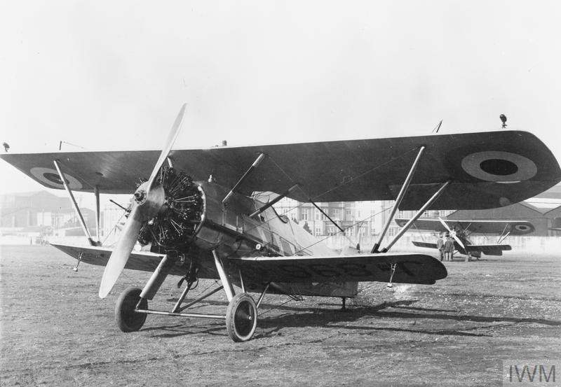 AIRCRAFT OF THE ROYAL AIR FORCE 1919-1939