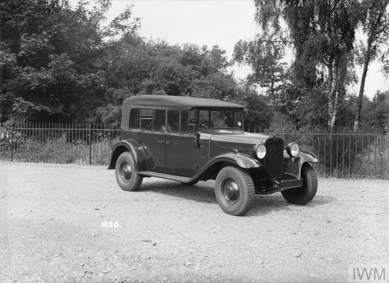 THE BRITISH ARMY CARS OF THE INTERWAR PERIOD